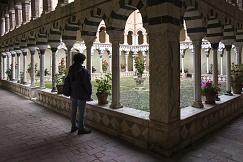 Chiostro dell'Abbazia dei monaci Vallombrosani