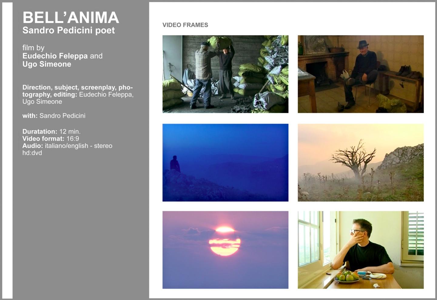 Bell'anima | 2008/09 | video