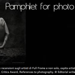 Pamphlet for photo Magazine: Focus Photographer, 20.03.14