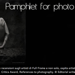 Pamphlet for photo Magazine: Focus Photographer, 20.03.14