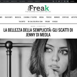 The Freak.it LA BELLEZZA DELLA SEMPLICITÀ: GLI SCATTI DI JENNY DI MEOLA