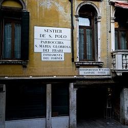 Venezia - Sestieri San Polo e Santa Croce...