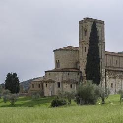 Siena e dintorni - Abbazia Sant'Antimo