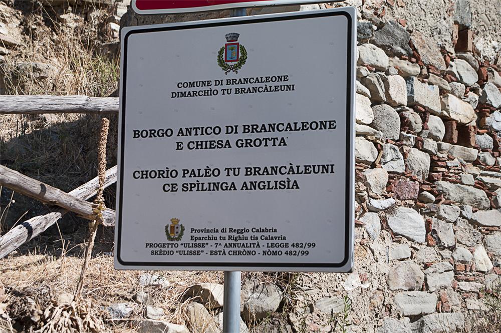 Calabria grecanica - Brancaleone superiore