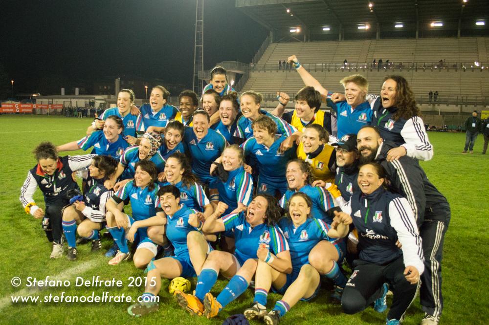 Italia vs Galles: 6 Nazioni femminile 2015