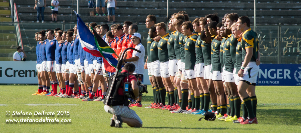 World Rugby Championship U20s Day 5 (Finals) Francia vs Sudafrica.