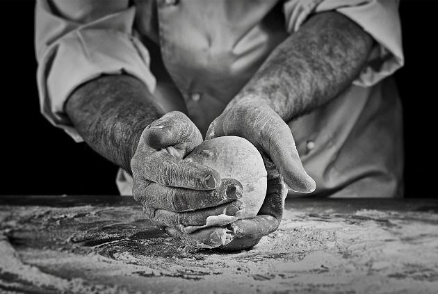 portrait • chef at work